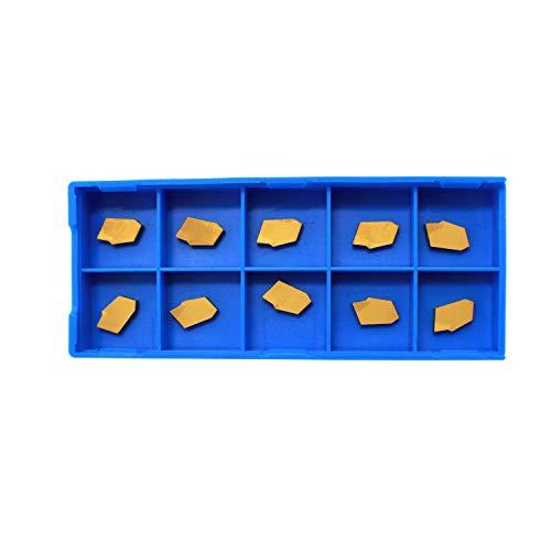 HFS(R) Tin Coated Carbide Inserts, 10 Pcs/Box (GTN-2)