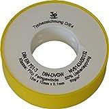 Teflón-rosca-cinta de sellado sanicomfort 12 m, grosor de 0,08 mm, sin, 1895630
