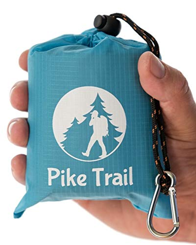 "Pike Trail Pocket Beach Blanket (60"" X 56"") – Lightweight Sand Proof..."