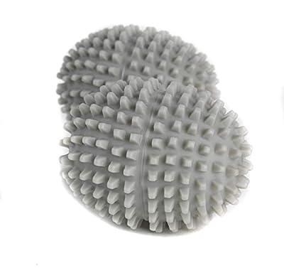 Kleeneze KL066077 EU Tumble Dryer Balls, 2 Pack, Grey