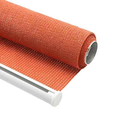 HAIZHEN Vele Parasole Outdoor Roller Ombra, Patio Tende Roll Up Shades Oscurante con Protezione UV for Windows for Terrazzino Portico Balcone Patio in 3 Dimensioni per Patio, Prato e Giardino