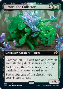 Magic: The Gathering - Umori, The Collector - Extended Art - Ikoria: Lair of Behemoths