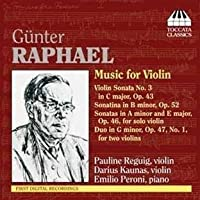 Music for Violin by Raphael (2011-02-08)