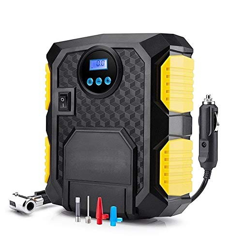 Inflador Ruedas Coche Bomba del compresor de aire portátil neumático del coche de 12 voltios 150 PSI compresor de aire for el coche Bicicletas Motocicletas Compresor Aire Portatil
