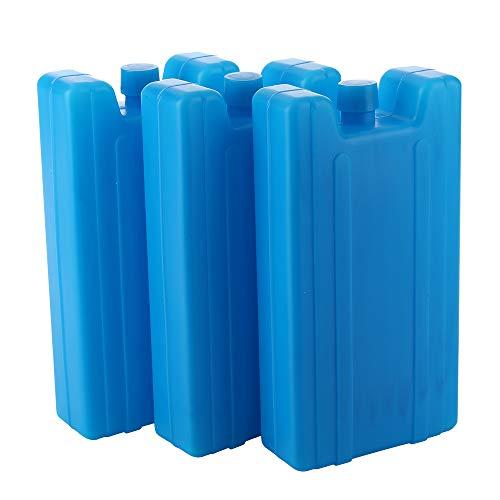 CXZC Eispacks für Kühlboxen, Gefrierpacks, langlebige und Wiederverwendbare Trockeneisblöcke, Kühlpacks für Lunchboxen (3er Pack, 16,5 x 9 x 3,3 cm)