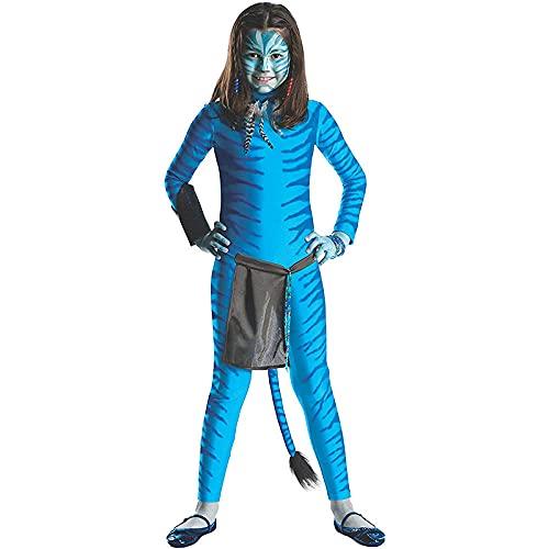 Disfraces de Avatar Unisex Adultos Nios Lycra Spandex Zentai Avatar Verse Miles Morales Mono Body Disfraces de Halloween Cosplay-11-14 aos 140-150cm