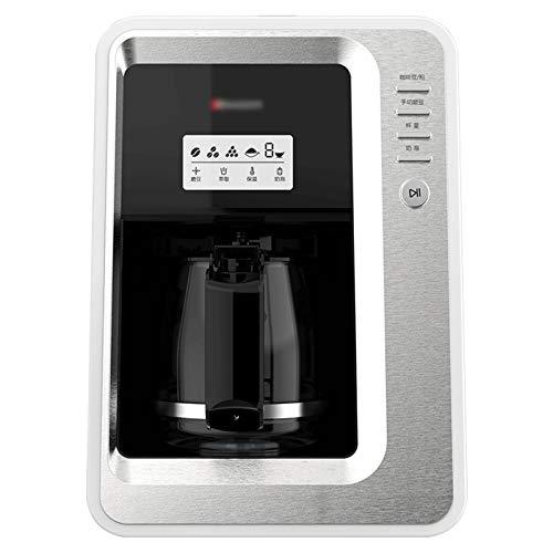 modo Máquina De Café Expreso por Goteo, Cafetera Inteligente para Café Expreso con Capacidad para Granos Y En Polvo, con Cafetera Y Molinillo Incorporado