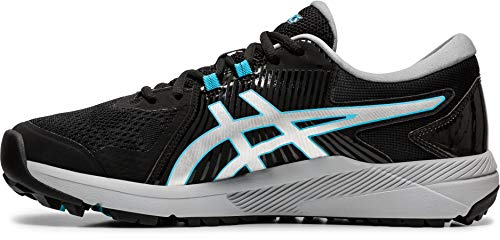 ASICS Men's Gel-Course Glide Golf Shoes, 7, Black/Silver