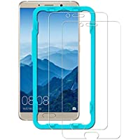 Ibywind Protector de Pantalla para Huawei Mate 10 [2 Piezas] Premium de Cristal Templado Protectores de Pantalla con Kit de aplicación fácil Instalar