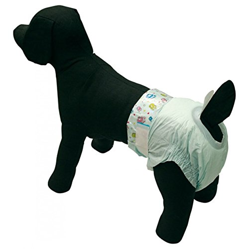 Windeln für Hunde Stuhlinkontinenz Silinde 10PZ Größe M für Barbone Nano–Beagle