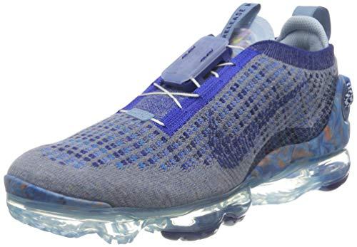Nike Women's AIR Vapormax 2020 FK Running Shoe, Stone Blue Deep Royal Blue Glacier Blue, 9 UK