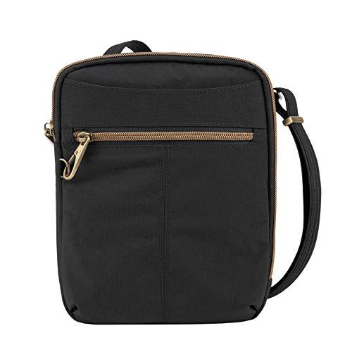 Travelon Anti-theft Signature Slim Day Bag, Black