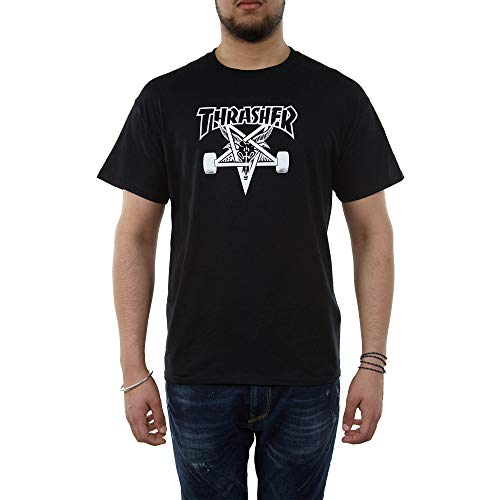Thrasher Skategoat T-Shirt pour Homme M Noir