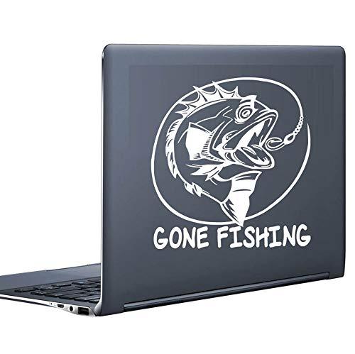 Stickers Muraux Pêche Creative Design Autocollant D'Ordinateur Vinyle Laptop Decal Pour Mur De Voiture Décor À La Maison De Voiture Styling Notebook Autocollants
