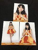 NMB48 三浦亜莉沙 写真 大島優子卒業コンサート 会場限定 3種 味の素スタジアム