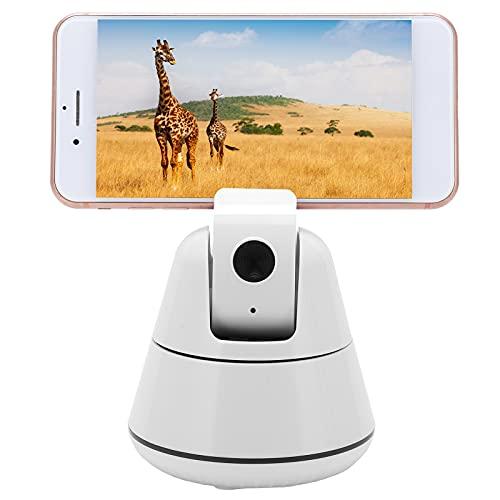 KUIDAMOS Base de Soporte para teléfono de Escritorio, 0.5m- 355 ° Soporte de teléfono Celular de Seguimiento Facial de Seguimiento para cámara para transmisión en Vivo