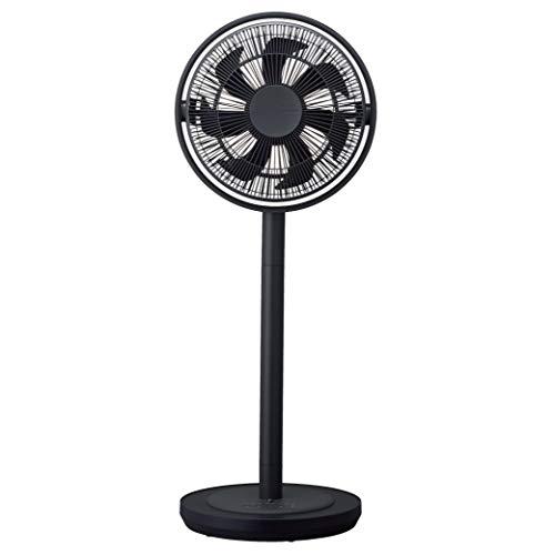 カモメファン リビング扇風機 28cm 首振り リモコン付き グレー