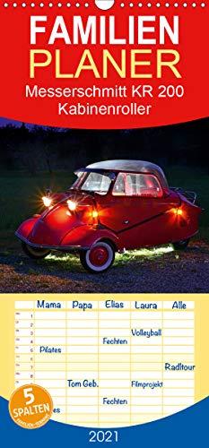 Messerschmitt KR 200 Kabinenroller - Familienplaner hoch (Wandkalender 2021, 21 cm x 45 cm, hoch)