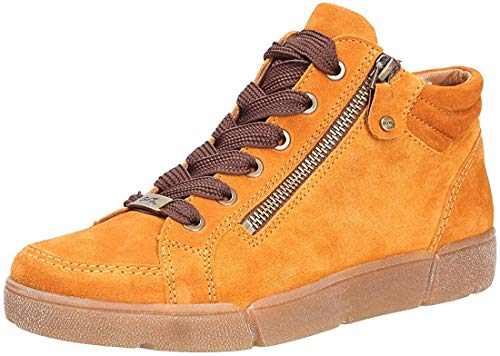 ARA Damen Rom 1214435 High-Top Sneaker, Gelb Curry 09, 39 EU, 6 UK