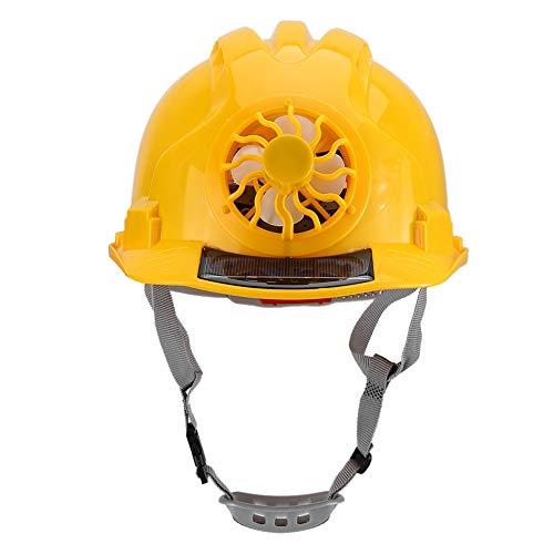 Herramienta de protección para la cabeza, sombrero de ventilador de seguridad Durabilidad Sombrero de soldadura Gorro de construcción Cómodo seguro para trabajadores para trabajos de taller