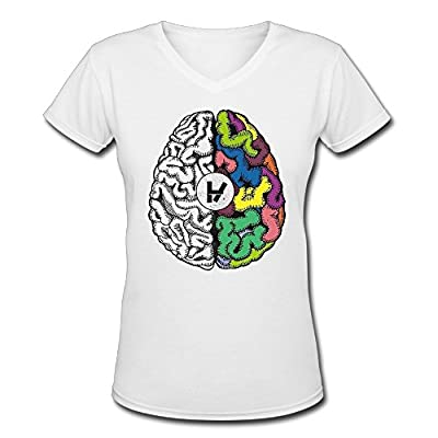 V Neck Twenty One Pilots Female Cool Shirts Designer T