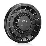 EBL Cargador de Baterías Recargables AA AAA de 16 Ranuras con Carga Independiente & Rápida, 2 Puertos USB para Teléfono y Powerbank