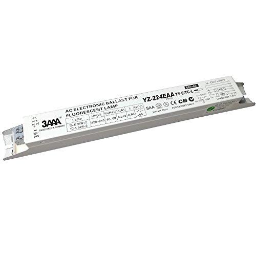 3AAA yz-224eaa t5-e/TC-L 220–240V 2x A, 24W Leuchtstofflampe AC elektronischen vorschaltgeräten Instant Start