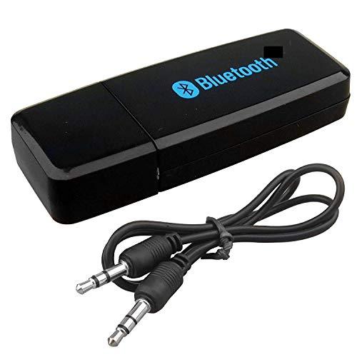 KMJSA B028 Bluetooth Audio Receiver for car, Wireless Bluetooth car Bluetooth Device for Music System/Bluetooth Connector for car Music System/Bluetooth Connector for Home Theatre