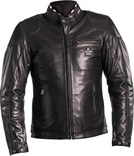 Helstons Motorradjacke Road Naturleder schwarz schwarz XL