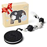 Teething Toys for Babies 6-12 Months BPA Free Silicone - Very Cute and Highly Effective Pain Relief Cookie...