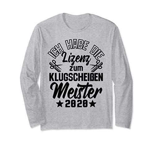Klugscheißer Lizenz | Friseur Meisterprüfung 2020 Langarmshirt