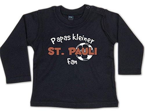 G-graphics Papas Kleiner St. Pauli Fan Baby Sweatshirt 268.0240 (6-12 Monate, schwarz)