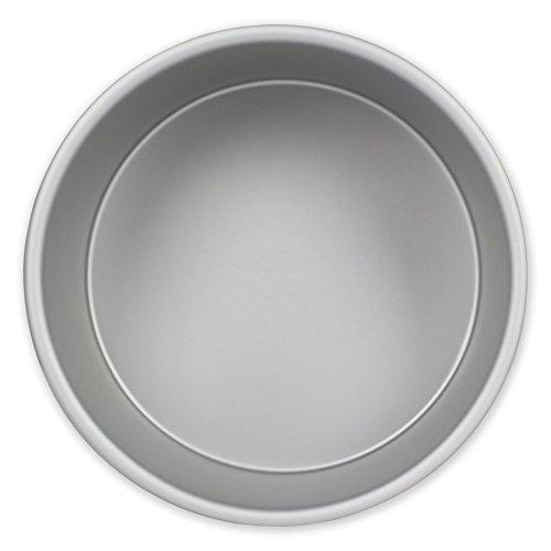 PME Molde para Pastel Redondo de Aluminio Anodizado Profundidad de 6 x 2-pulgadas