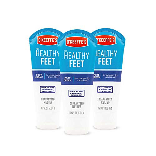 3oz Healthy Feet Tube, 3 PACK by O'Keeffe's