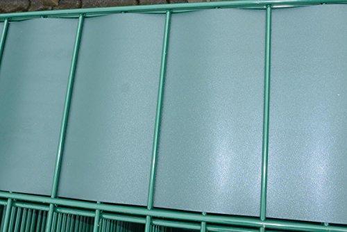 Niehaus-Heuer Polypropylen Sichtschutzstreifen Moosgrün, RAL 6005 Rolle a 35m, 19,1cm Höhe, 0,7mm Stärke