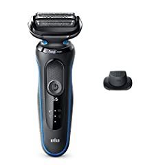 Electric shaver for men with 3 Flexible Blades that adapts to facial contours for a close shave made easy The EasyClean system delivers a fast and easy cleaning without removing the shaver head Li-Ion Battery for up to 3 weeks of shaving (50 min). 5 ...