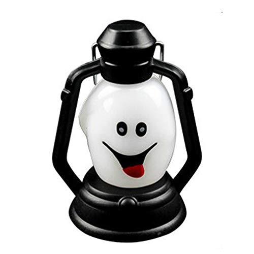 Warm Home Decoratie, 1 W, Mueca aansteker, decoratie voor Halloween, nieuwe Halloween-licht, draagbare lamp, horrorlamp, kleurrijk, Flash LED lantaarn, 1 stuk