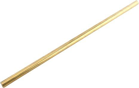 Messing Rundrohr ø außen 13,0 mm innen 12,1 mm Länge 100 cm 6,45€//m