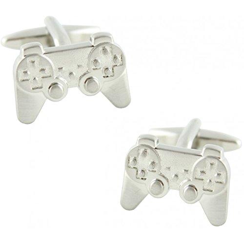 masgemelos Manschettenknöpfe Playstation Silber Cufflinks