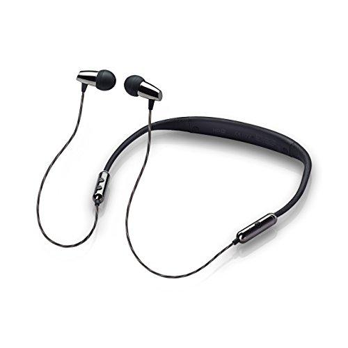 MobiFren Seiren Hi Resolution Stereo Apt-X HD Sound Wireless Bluetooth Headset Elastic Earphones with Smartphone Mobile App-Magnetic Earbuds, Sport Running Sweat-Proof [Seiren Soul]