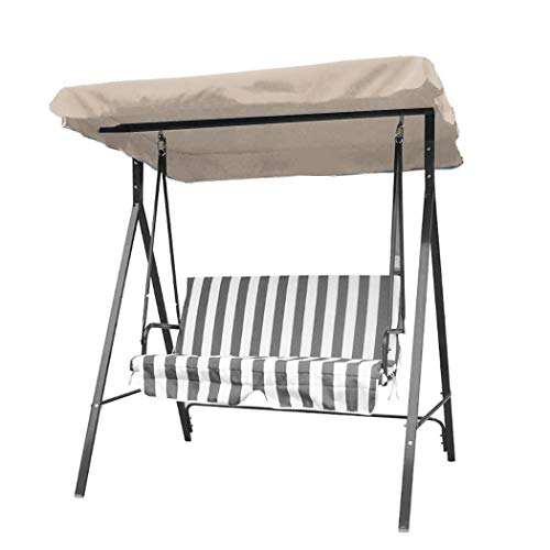 MinGe Outdoor Patio Swing Canopy Anti UV Courtyard Awning Chair Canopy Shade Cloth