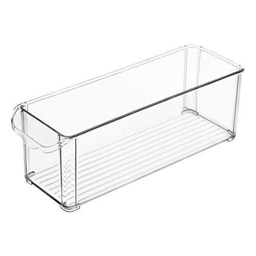 duhe189014 Cajas Organizadoras Grandes con Asa Cajas Plasticas Ideales para Cocina En Armarios O como Caja para Nevera Transparente Beautifully