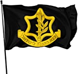 tenghanhao Flagge/Fahne The IDF Logo Decorative Garden Flags Outdoor Artificial Flag for Home Garden Yard Decorations 3x5 Ft