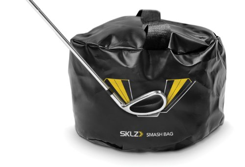 SKLZ Smash Bag Golf Impact Swing Trainer Black