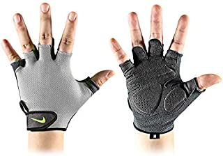 Men's Essential Fitness Gloves XL Cool Grey/Anthracite/Volt, Cool Grey/Anthracite/Volt