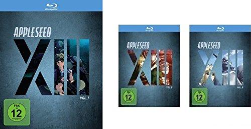 Appleseed XIII - Vol. 1 - 3 im Set - Deutsche Originalware [3 Blu-rays]