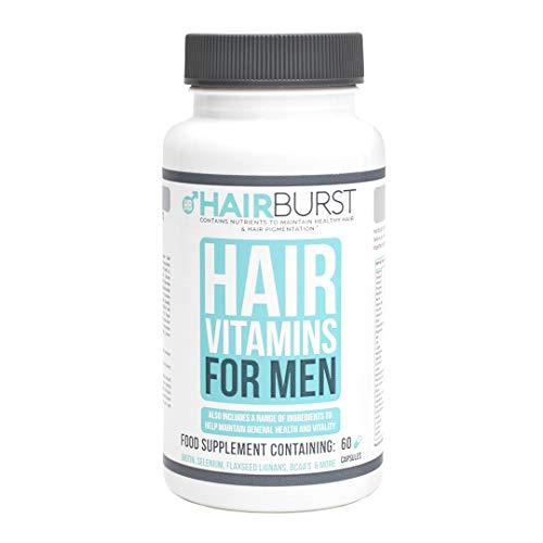 Hairburst Haar Vitamine für Männer – Nahrungsergänzungsmittel für Haarwachstum – Multivitamin für Männer