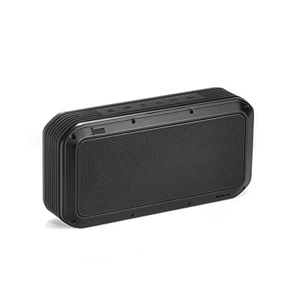 Premium 40W 12Hour Playtime TWS Portable Bluetooth Speaker, Water Resistant for Indoor/Outdoor Use(Black) 3