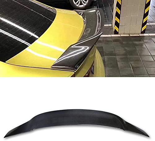 Siyse Adecuado para sedán Audi A3 2012-2018 R Estilo Modificado Parachoques Trasero de Coche alerón alerón Maletero Labio de ala Fija