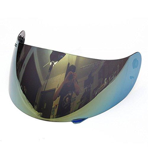 SGerste Casco de motocicleta de cara completa, protector de lente para casco de motocross AGV K3 K4, colorido